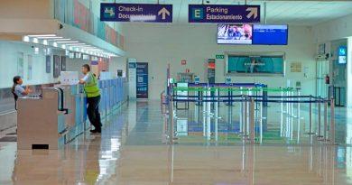 Desplome en el Aeropuerto de Villahermosa