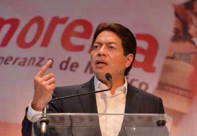 Mario Delgado llama a la población a participar en la Consulta Popular del 1º de agosto