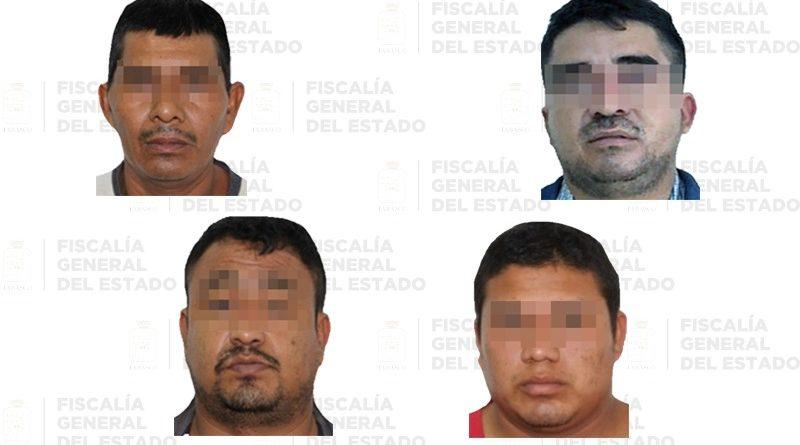 Pena de 200 años de prisión a cuatro secuestradores